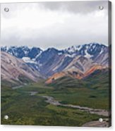 Polychrome Pass In Denali National Park Acrylic Print