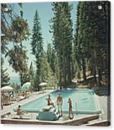 Pool At Lake Tahoe Acrylic Print