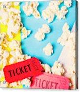 Popcorn Culture Acrylic Print