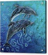 Porpoise Pair Acrylic Print