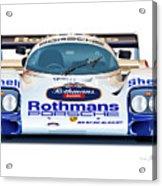 Porsche 962 Al Holbert Racing Acrylic Print