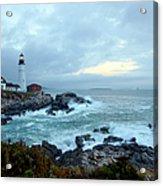 Portland Head Lighthouse At Sunrise Acrylic Print