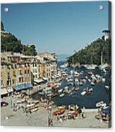 Portofino Harbour Acrylic Print