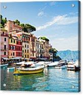 Portofino, Liguria, Italy Acrylic Print