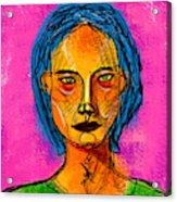 Portrait Of A Woman 1139 Acrylic Print