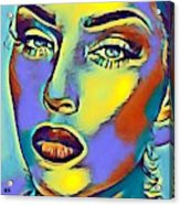 Portrait Of A Young Woman Acrylic Print