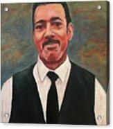 Portrait Of Artist Carl Butler Acrylic Print