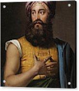 Portrait Of Giovanni Belzoni Acrylic Print