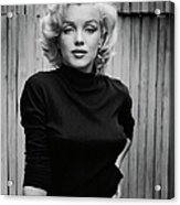Portrait Of Marilyn Monroe Acrylic Print