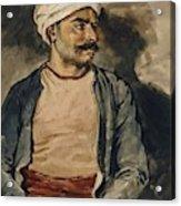 Portrait Of Mustapha Acrylic Print