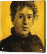 Portrait Of Tatyana Tolstaya Leo Tolstoy Daughter Acrylic Print