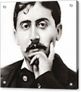 Portrait Of The French Author Marcel Proust Acrylic Print