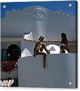 Portuguese Villa Acrylic Print
