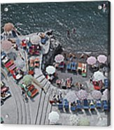 Positano Beach Acrylic Print