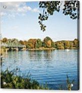 Potsdam - Havel River / Glienicke Bridge Acrylic Print