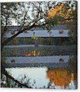 Potter's Bridge, Noblesville, Indiana Acrylic Print