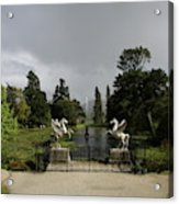 Powers Court Gardens - Ireland Acrylic Print
