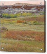 Prairie Reverie On The Western Edge Acrylic Print