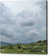 Prairie Sky In July Acrylic Print