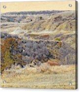 Prairie Slopes Reverie Acrylic Print
