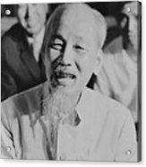 President Ho Chi Minh Of North Vietnam Acrylic Print