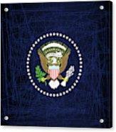 President Seal Eagle Acrylic Print
