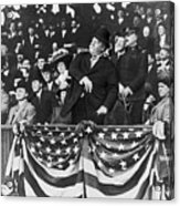 President Taft Throwing The First Pitch Acrylic Print