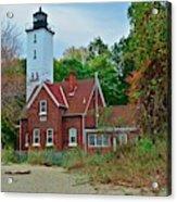 Presque Isle Lighthouse Acrylic Print