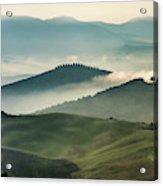 Pretty Morning In Toscany Acrylic Print