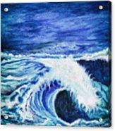 Promethea Ocean Triptych 1 Acrylic Print