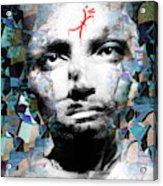 Psychosis Warrior 1141 Acrylic Print