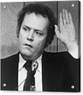 Publisher Larry Flynt Being Sworn Acrylic Print