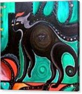 Pyewacket Noir Acrylic Print