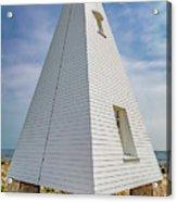 Pyramid Bell Tower Maine Acrylic Print