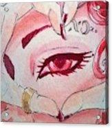 Queen Of Hearts Acrylic Print