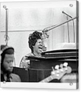 Queen Of Soul Recording In Ny Acrylic Print