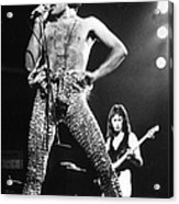Queen On Stage Acrylic Print