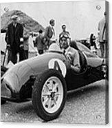 Racing At Goodwood Acrylic Print