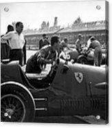 Racing Ferrari Acrylic Print