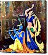 Radhakrishna Acrylic Print