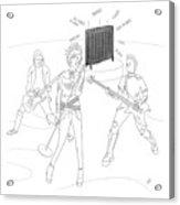 Radiator Band Acrylic Print