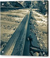 Rail Away  Acrylic Print