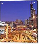 Rail Tracks Acrylic Print