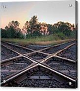 Railroad Diamond Acrylic Print