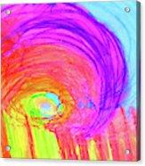 Rainbow Shell Acrylic Print