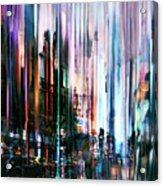 Rainy Street Acrylic Print