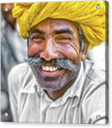 Rajput High School Teacher Acrylic Print