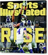 Rams Rise How L.a. Built A Super Team Almost Overnight Sports Illustrated Cover Acrylic Print