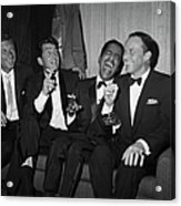 Rat Pack At Carnegie Hall Acrylic Print