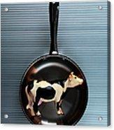 Raw Steak Acrylic Print